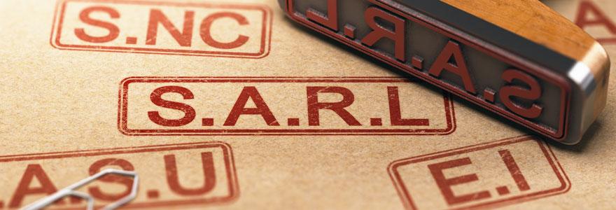 entreprise de statut SARL